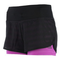 ADIDAS GYM 2 IN 1 MESH SHORT