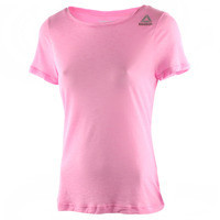REEBOK WORKOUT READY LIGHT SLUB TEE