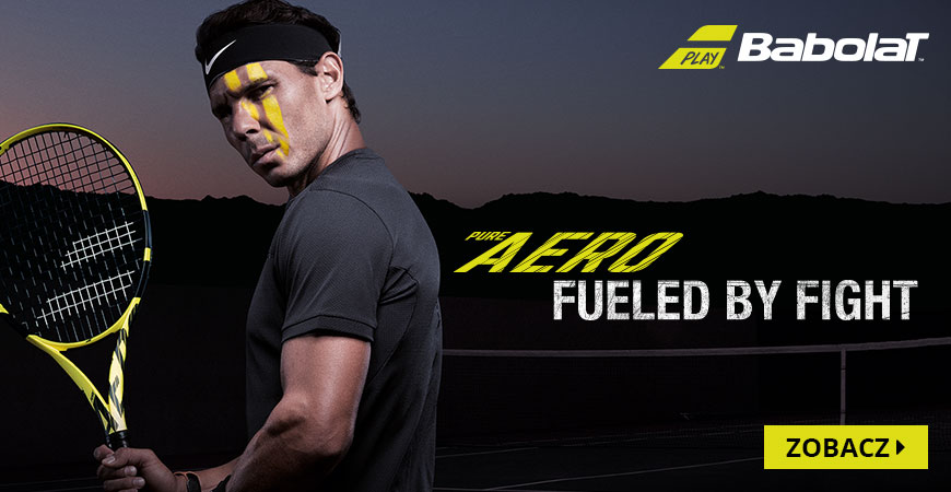 Babolat - pure aero fueled by fight