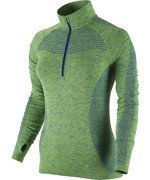 bluza do biegania damska NIKE DRI-FIT KNIT 1/2 ZIP / 719469-455