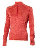 bluza do biegania damska NIKE ELEMENT SPHERE 1/2 ZIP / 686963-842