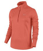 bluza do biegania damska NIKE RACER LONG SLEEVE 1/2 ZIP TOP / 648358-842