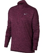 bluza do biegania damska NIKE THERMA ELEMENT SPHERE HALF ZIP / 855521-652