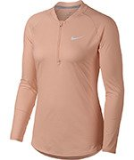 bluza tenisowa damska NIKE COURT PURE TOP LONG SLEEVE HALF ZIP / 888170-814