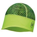 czapka do biegania BUFF TECH FLEECE HAT BUFF XYSTER YELLOW FLUOR / 113387.117.10