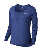 koszulka do biegania damska NIKE ZONAL COOLING RELAY TOP LONG SLEEVE / 831514-478