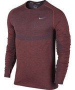 koszulka do biegania męska NIKE DRI-FIT KNIT LONG SLEEVE / 717760-406