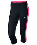 legginsy do biegania damskie 3/4 NIKE DRI-FIT ESSENTIAL CAPRI / 645603-012