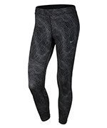 legginsy do biegania damskie 3/4 NIKE POWER ESSENTIAL RUNNING CROP / 799814-010