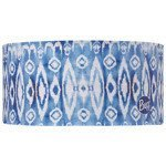 opaska do biegania BUFF HEADBAND BUFF IKAT AQUA / 111492.711
