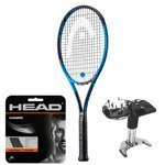 rakieta tenisowa HEAD GRAPHENE TOUCH SPEED MP BLUE LTD. + naciąg HEAD HAWK + naciąganie / 234208