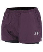 spodenki do biegania damskie NEWLINE IMOTION 2LAYER SHORTS / 10712-292
