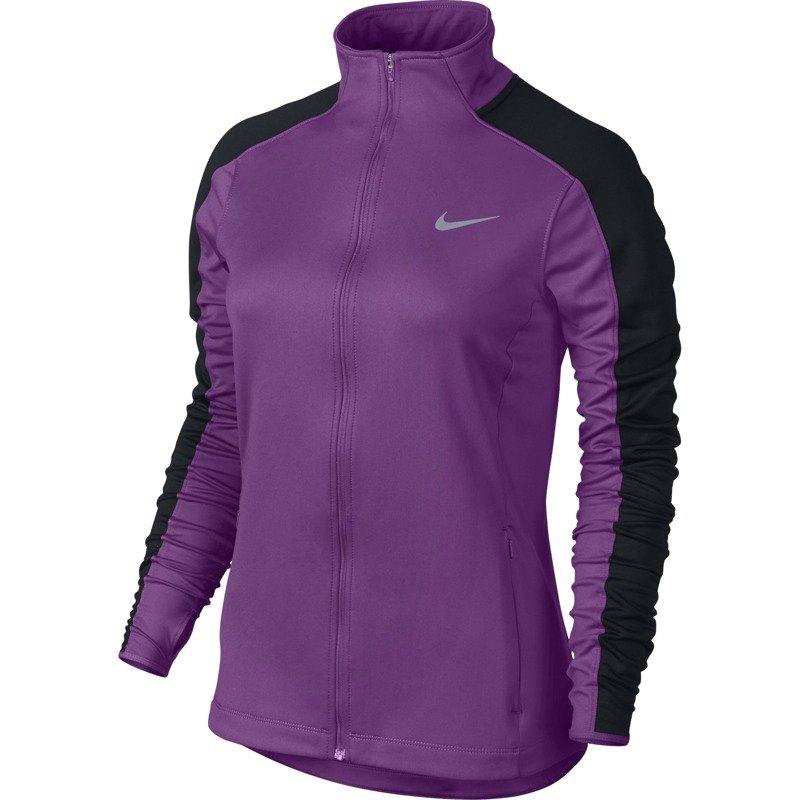 bluza do biegania damska NIKE THERMAL FULL ZIP 685935 513