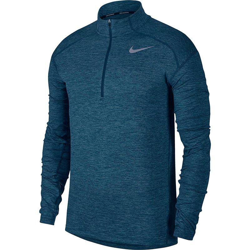 bluza do biegania męska NIKE DRI FIT ELEMENT HALF ZIP 683485 891