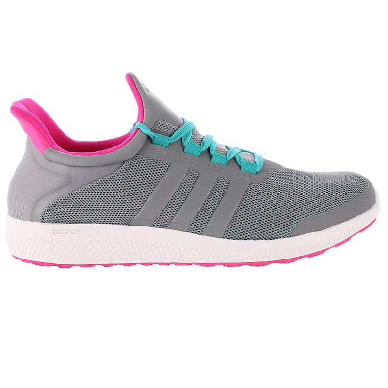 Buty do biegania damskie Adidas CC Sonic Boost W szare
