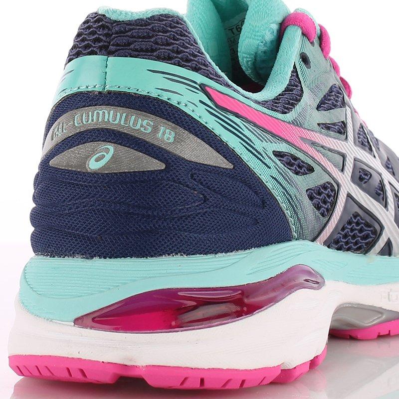 niska cena buty sportowe nowy przyjeżdża buty do biegania damskie ASICS GEL-CUMULUS 18 / T6C8N-4993 ...