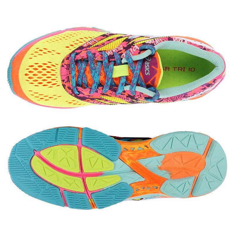 buty do biegania damskie ASICS GEL NOOSA TRI 10 T580N 0739