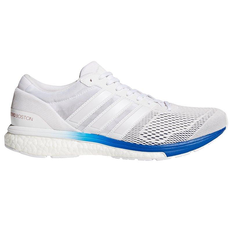 Wyprzedaż Przecena Białe Obuwie do biegania, Adidas ADIZERO