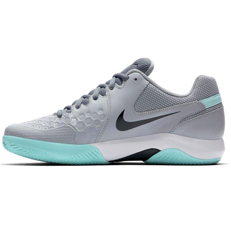 klasyczny styl Los Angeles gorące wyprzedaże buty tenisowe męskie NIKE AIR ZOOM RESISTANCE CLAY / 918194-100