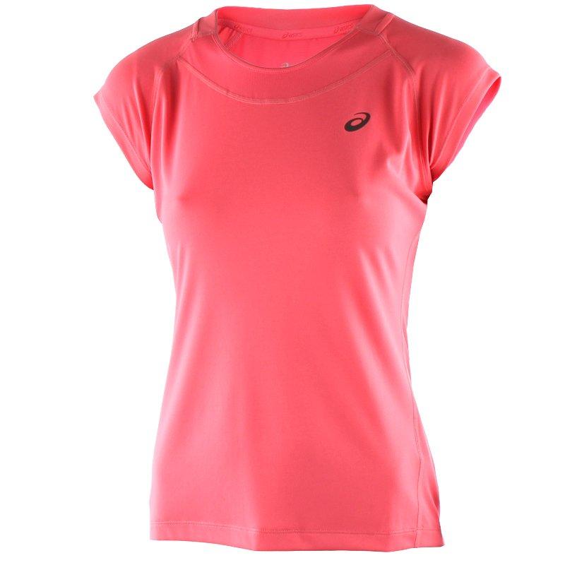 koszulka do biegania damska ASICS CAPSLEEVE TOP 129957