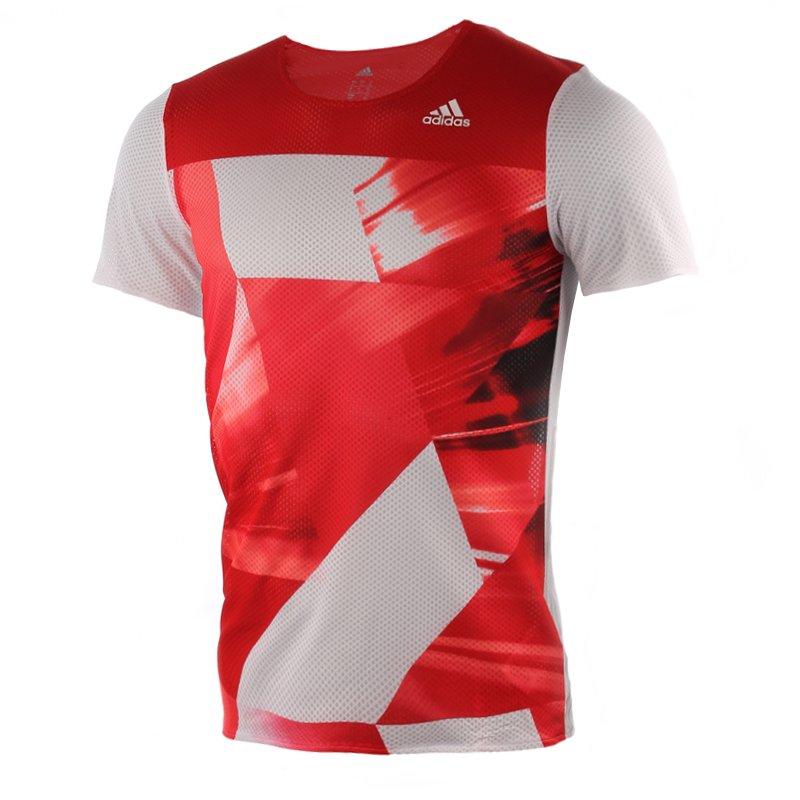 koszulka do biegania męska ADIDAS ADIZERO SHORT SLEEVE TEE