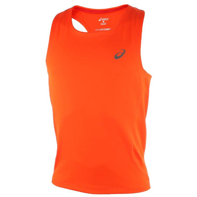koszulka do biegania męska ASICS RACE SINGLET 129909 0540