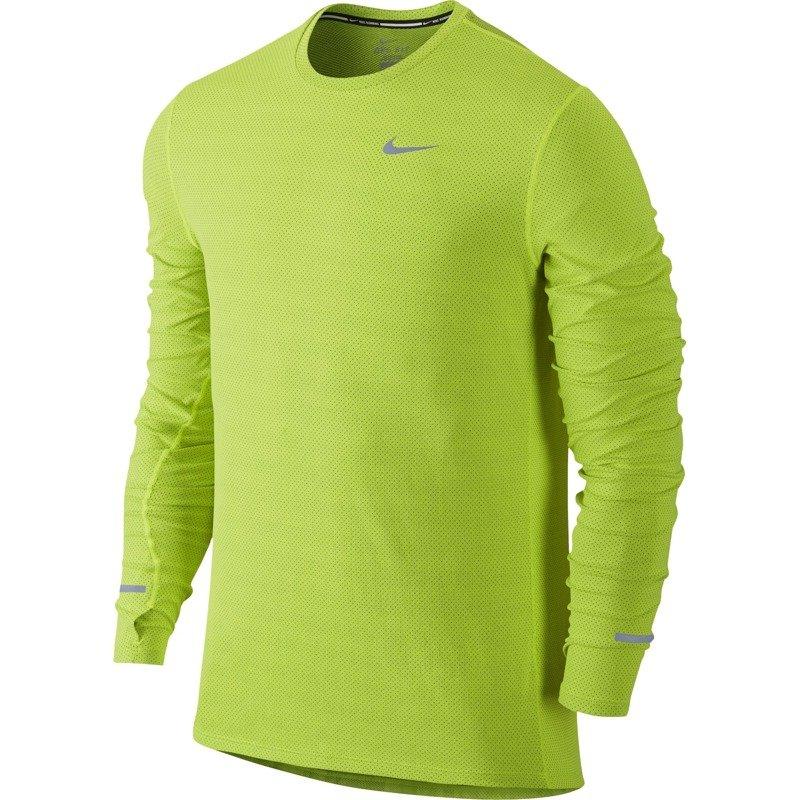7a56db4e9be6d5 koszulka do biegania męska NIKE DRI-FIT CONTOUR LONGSLEEVE   683521 ...
