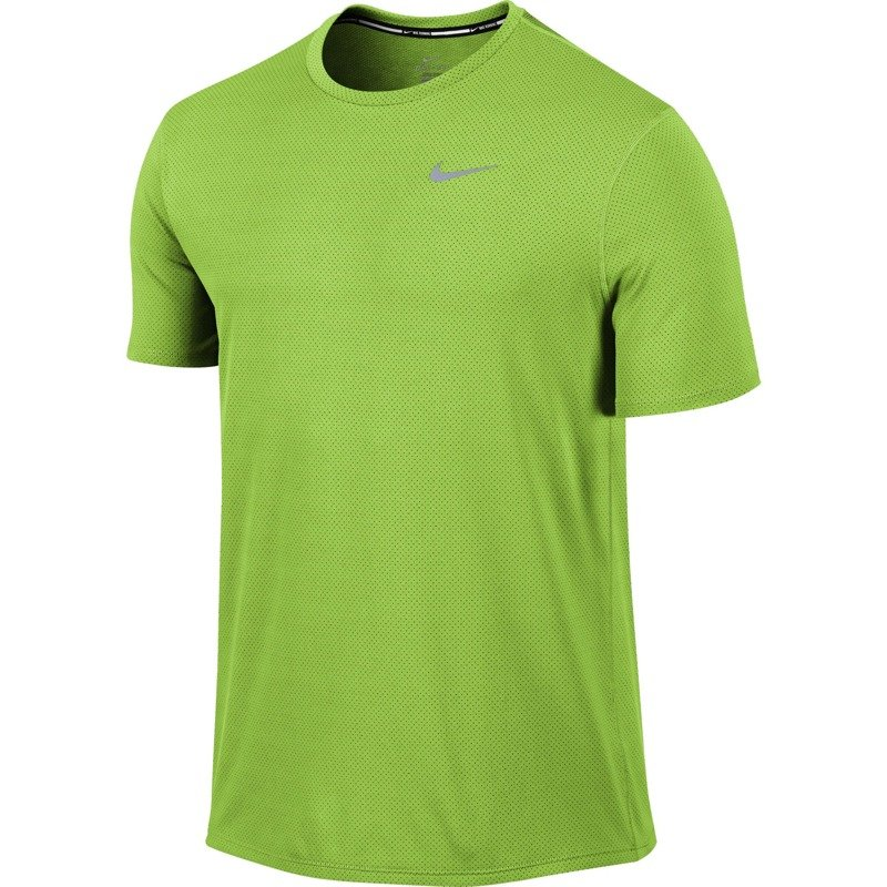 2f6fceddaed64 koszulka do biegania męska NIKE DRI-FIT CONTOUR SHORT SLEEVE ...