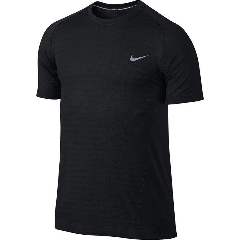 0790f686cf233 koszulka do biegania męska NIKE DRI-FIT KNIT NOVELTY CREW   619953 ...