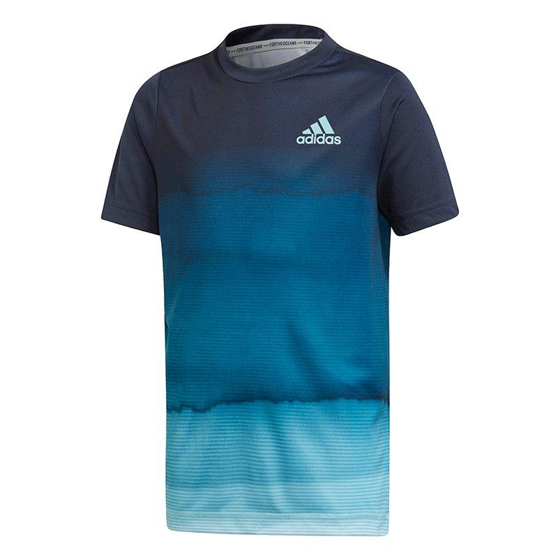 koszulka tenisowa chłopięca ADIDAS PRLEY JUNIOR TEE DU2453