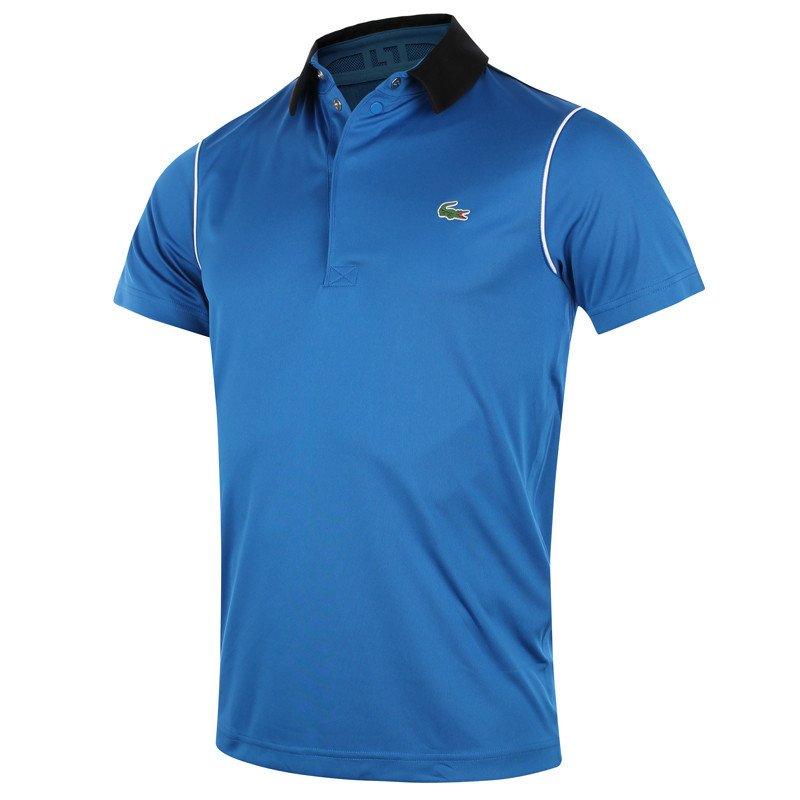 4255434a8 koszulka tenisowa męska LACOSTE ULTRA DRY SPORT POLO / DH7412 BUN ...