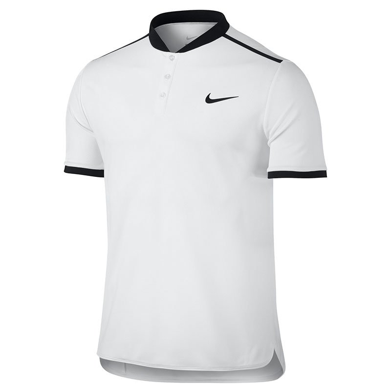 koszulka tenisowa męska NIKE ADVANTAGE POLO SOLID 830839 100