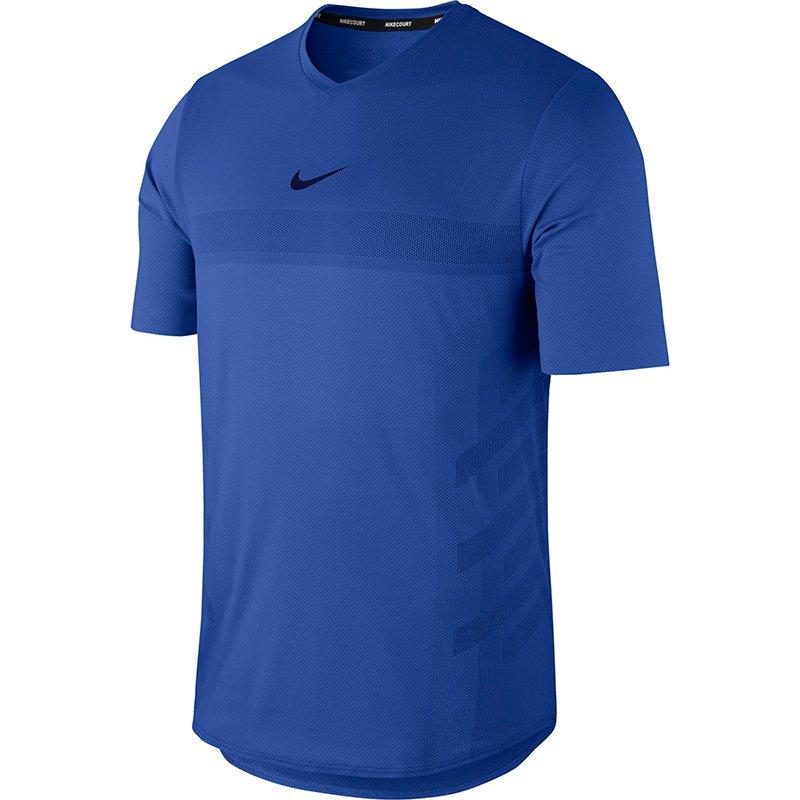 koszulka tenisowa męska NIKE COURT AEROREACT RAFA TOP 888206 480