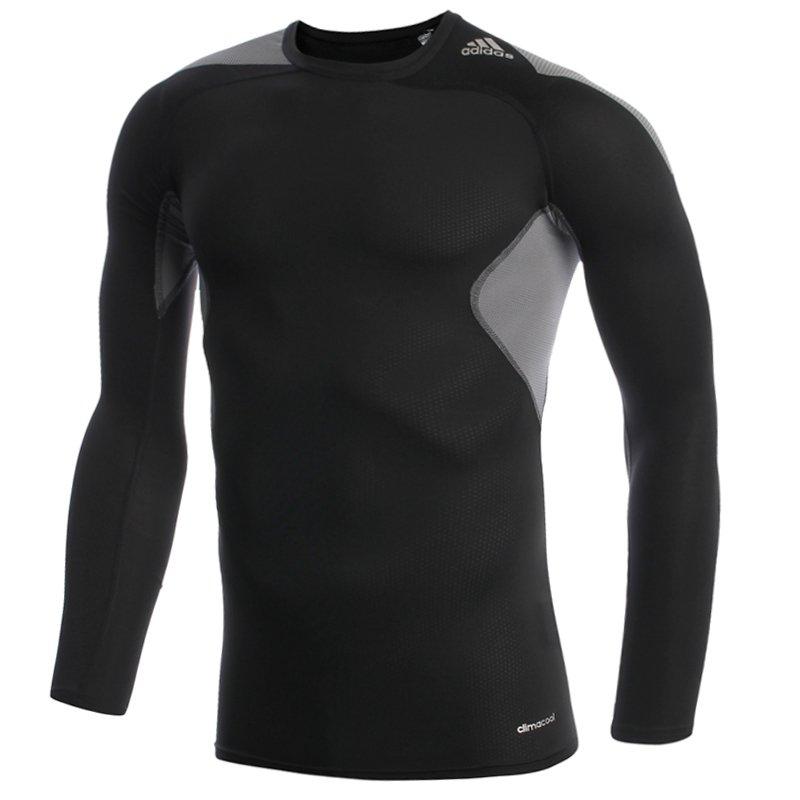 c1408e5f0d8a02 koszulka termoaktywna męska ADIDAS TECHFIT COOL LONGSLEEVE / S19450 ...