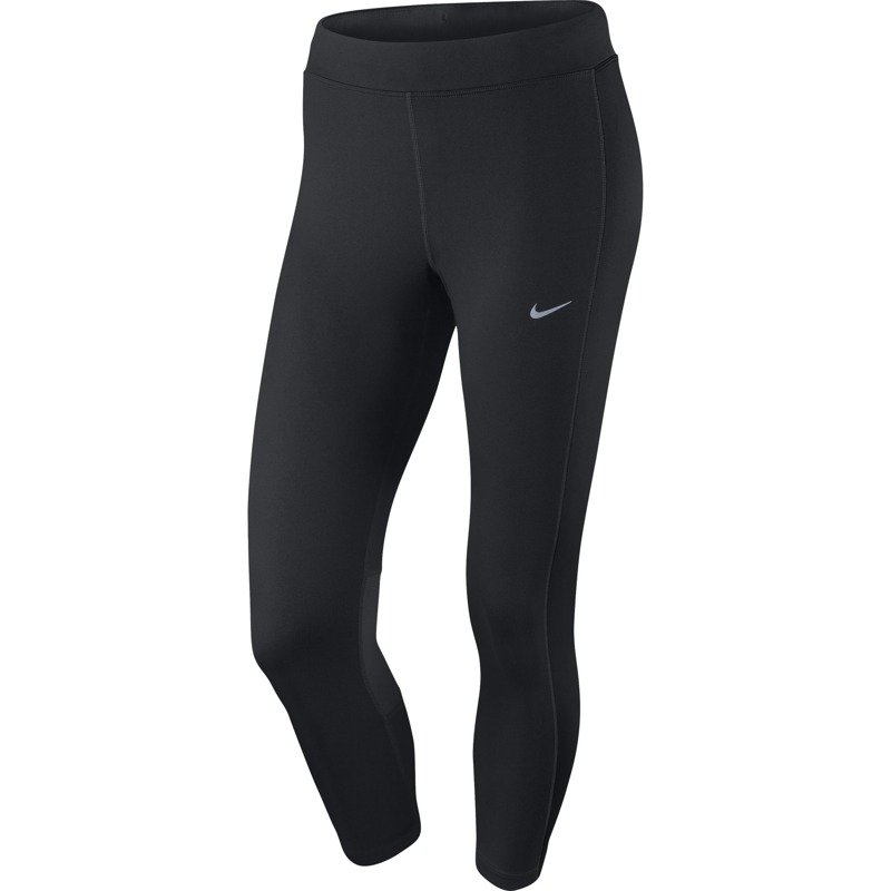 legginsy do biegania damskie 34 NIKE DRI FIT ESSENTIAL CROP 667623 010