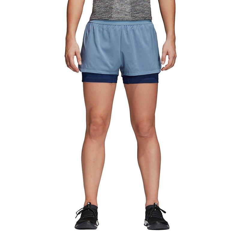 spodenki sportowe damskie ADIDAS 2 IN 1 SHORT CD3074