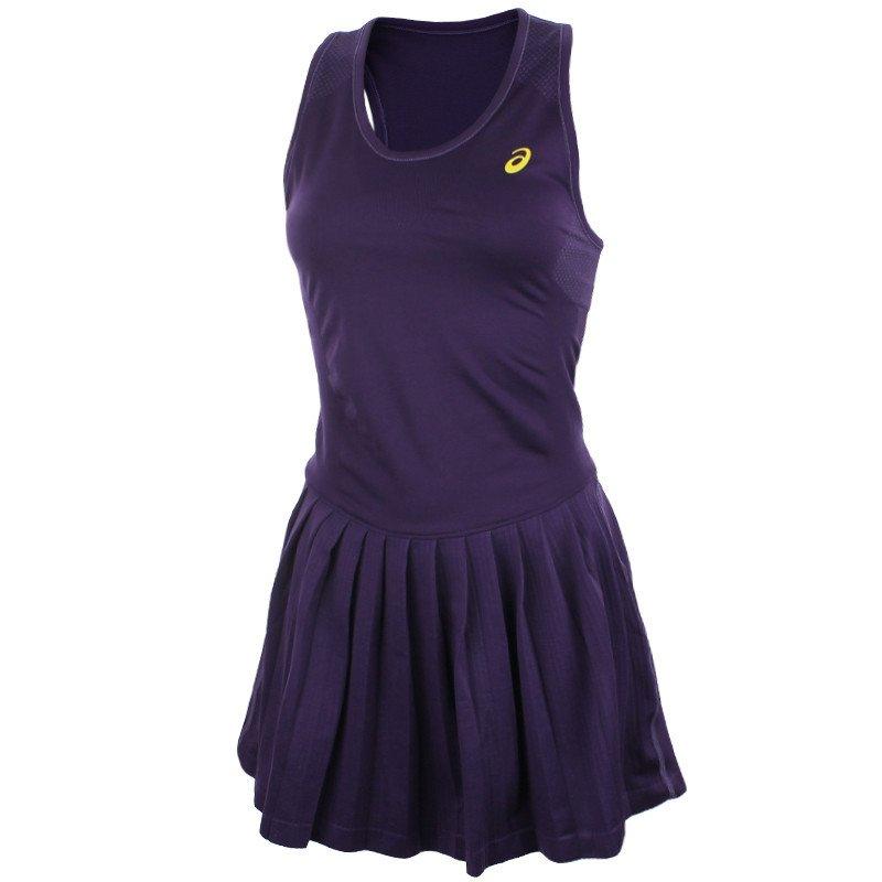 92b2275886c940 sukienka tenisowa damska ASICS WOMEN'S RACKET DRESS / 121046-0245 ...