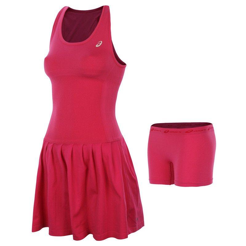 dc403af8efa5d6 sukienka tenisowa damska ASICS WOMEN'S RACKET DRESS | Internetowy ...