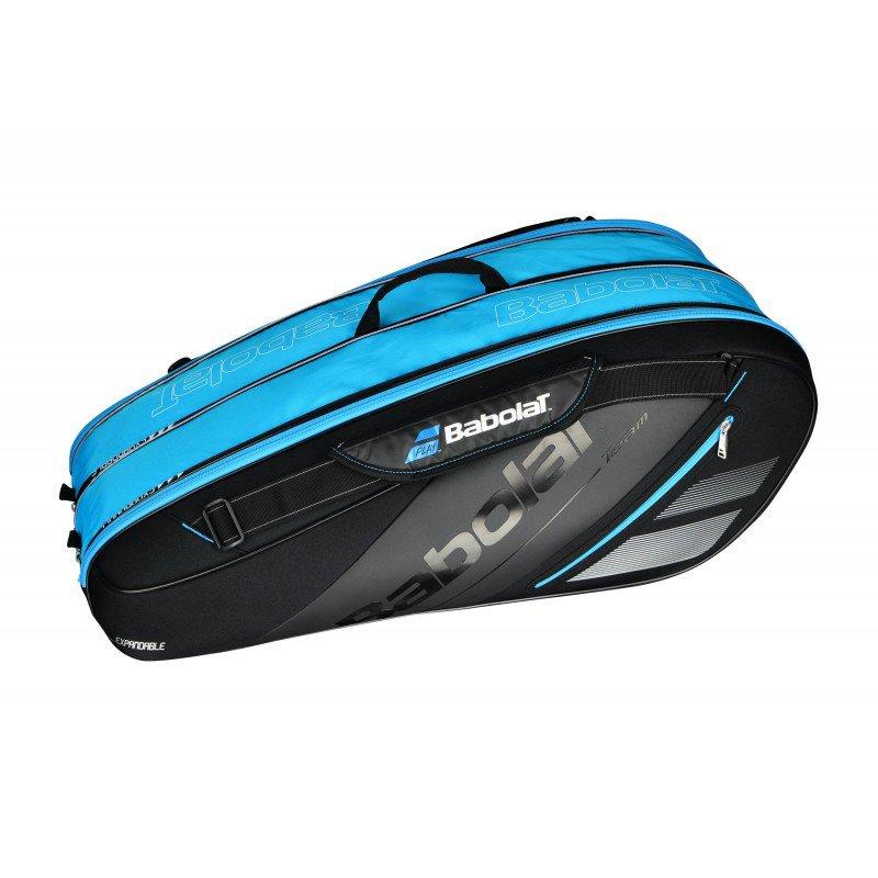 9d4c8c536d158 torba tenisowa BABOLAT TEAM LINE X 3-9 EXPANDABLE BLUE   164041 ...