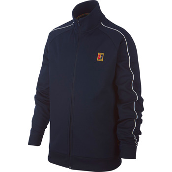 bluza tenisowa chłopięca NIKE COURT WARM UP JACKET / BV1093-451