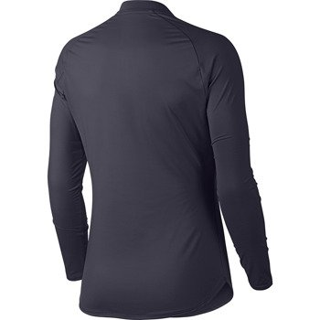 bluza tenisowa damska NIKE COURT PURE TOP LONG SLEEVE HALF ZIP / 888170-009