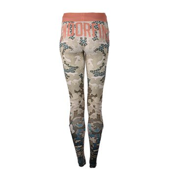 legginsy do biegania damskie ENDORFINA LEGGINS RUN CAMO / JZ16-5627
