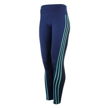 legginsy sportowe damskie ADIDAS ESSENTIALS 3-STRIPES TIGHT / AY4752