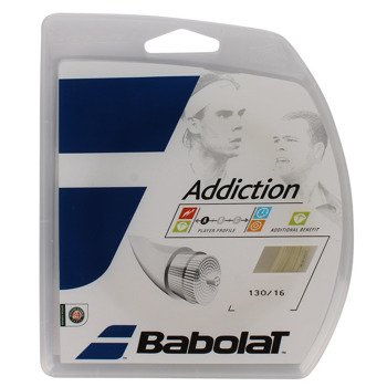naciąg tenisowy BABOLAT ADDICTION 12m.