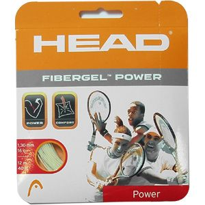 naciąg tenisowy HEAD FIBERGEL POWER white 12 m / TNH-011