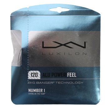 naciąg tenisowy LUXILON ALU POWER FEEL 12,2M 1,20 mm