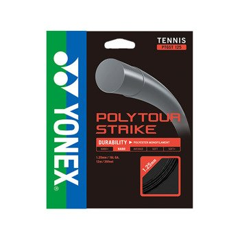 naciąg tenisowy YONEX POLY TOUR STRIKE 125SET 12M / BLACK