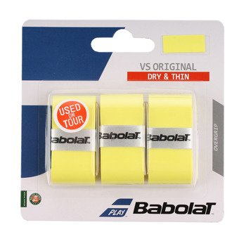 owijka tenisowa BABOLAT X3 VS GRIP ORIGINAL Yellow