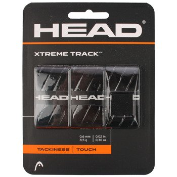 owijki tenisowe HEAD XTREMETRACK x3 black / 285124-BK
