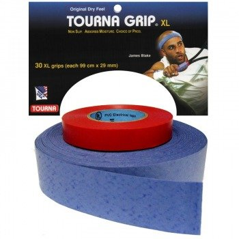 owijki tenisowe TOURNA GRIP XL (99cm x 29mm) 2x15szt blue